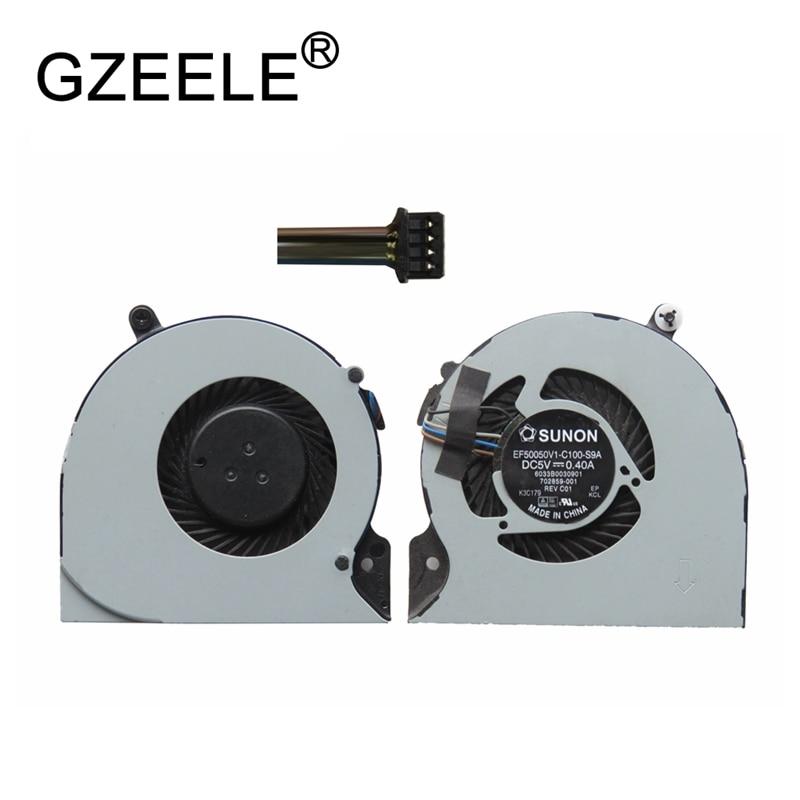 GZEELE Used CPU Cooling Fan For HP EliteBook Folio 9470m Series Laptop Notebook Cooler FAN Laptops COOLING SPS: 702859-001