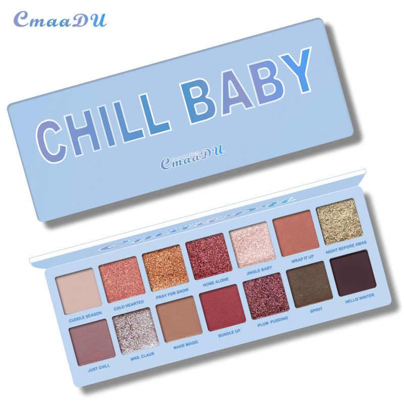 14 色ヌードイニングメイクアイシャドウパレットグリッター防水スモーキーアイシャドウパレットマットパウダー顔料化粧品 maquiagem