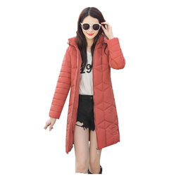Winter Jacket Female Parka Coat Plus size 4XL Fashion Down Jacket Long Hoodie Down Thick Long Coat Jacket Women Clothing 3
