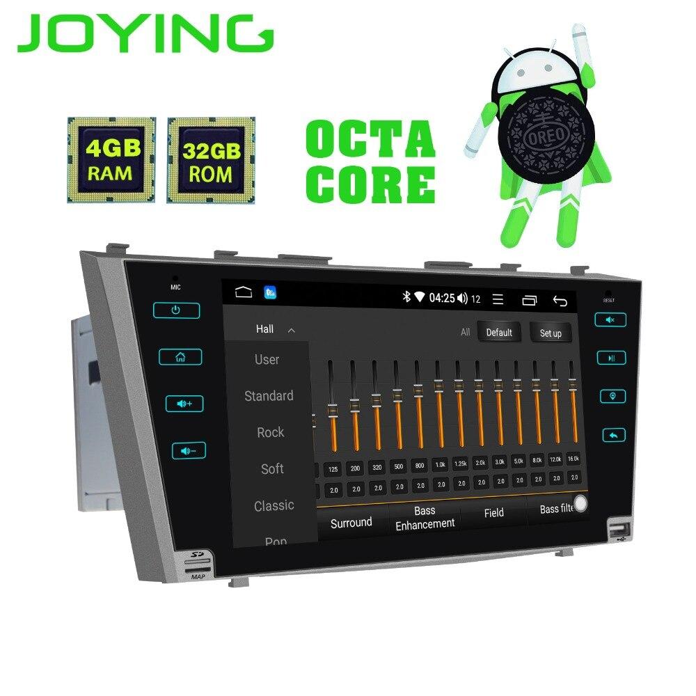 JOYING 2 din Android 8.1 GPS Per Auto radio Stereo schermo di tocco di Bluetooth Autoradio No DVD per Toyota Camry/Aurion 2007 2008-2011