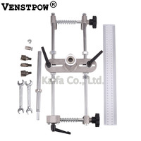 Professional Locksmith Woodworking Door Lock Mortiser Kit Hole Saw Pounch Opener Installation Mortising Jig Tool Maintenance Set