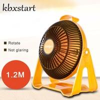 Kbxstart Quartz Space Heater Household Small Size Handy Warmer Electric Desktop Fan Heated Heaters For Winter Bedroom Office
