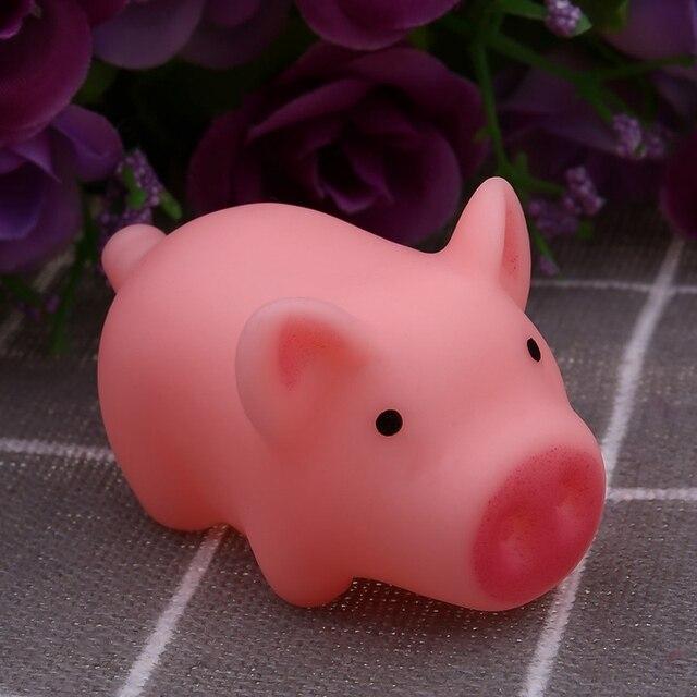Nuovo Carino Giocattoli Del Cane Rosa di Gomma di Grido Pig Giocattoli Da Compagnia Squeak Squeaker Chew Regalo Decorazioni Per La Casa di Trasporto libero