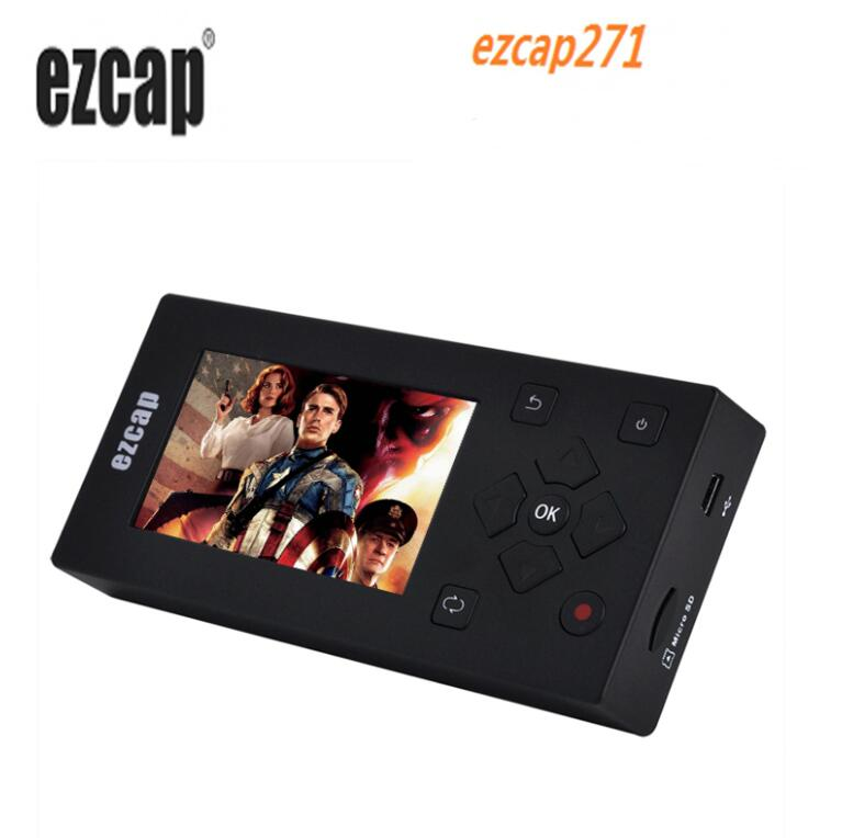 Ezcap271 Av Recorder Video Audio Capture Converter Records Analog Vhs Camcorder Tapes To Digital Format For Dvd Player With Hdmi Hdmi Cables Aliexpress