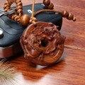 1 unid animales Afortunados madera Tallada De Madera Cadena Dominante Del Coche/Bolsa/Monedero Llavero Llavero Colgante De Madera Accesorios llaveros titular de la clave