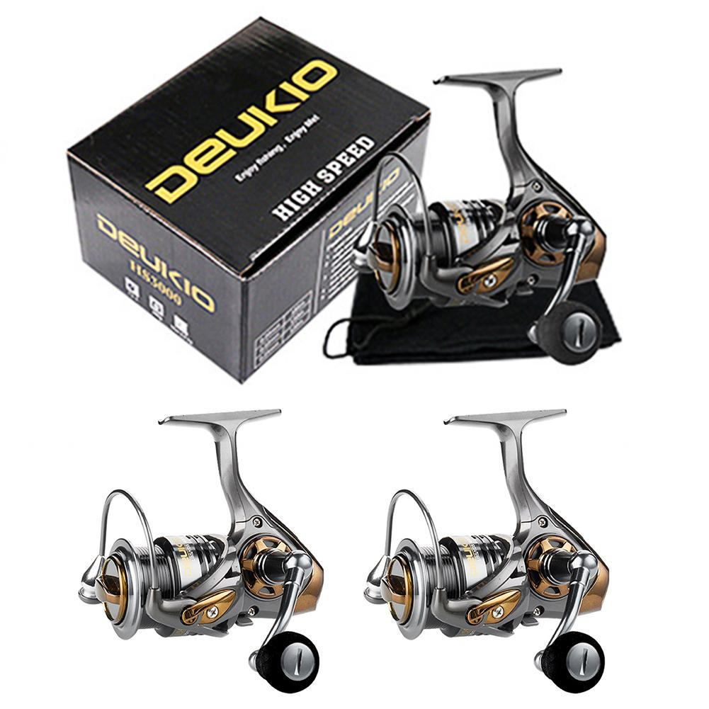 Rotating Fishing Reel 7.1:1 Spinning Reel Upgraded Lightweight Baitcasting Reel Shake-proof Professional Fishing Tackle Tool quanhai gt4000a professional spinning fishing reel golden
