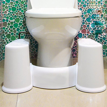 2017no slip toilet foot stool potty stool squat stool Crouch hole artifact Squat toilet stool can tear open outfit toilet stool