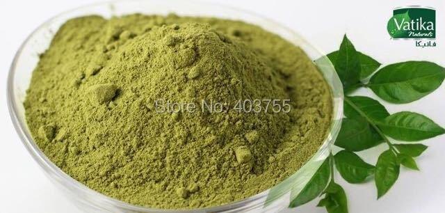 Vatika Henna Hair Coloring Hair Dye Powder Burgundy 100 Grey
