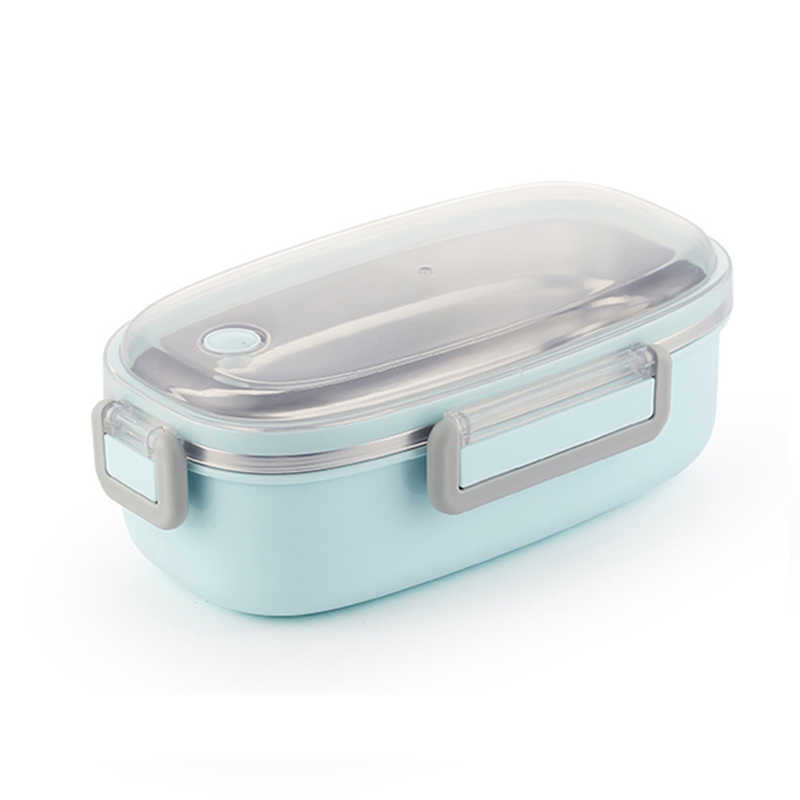 TUUTH Bonito Louça de Aço Inoxidável Caixa de Almoço Bento Caixa Recipiente De Armazenamento De Alimentos Crianças Da Escola Dos Miúdos de Escritório Portátil