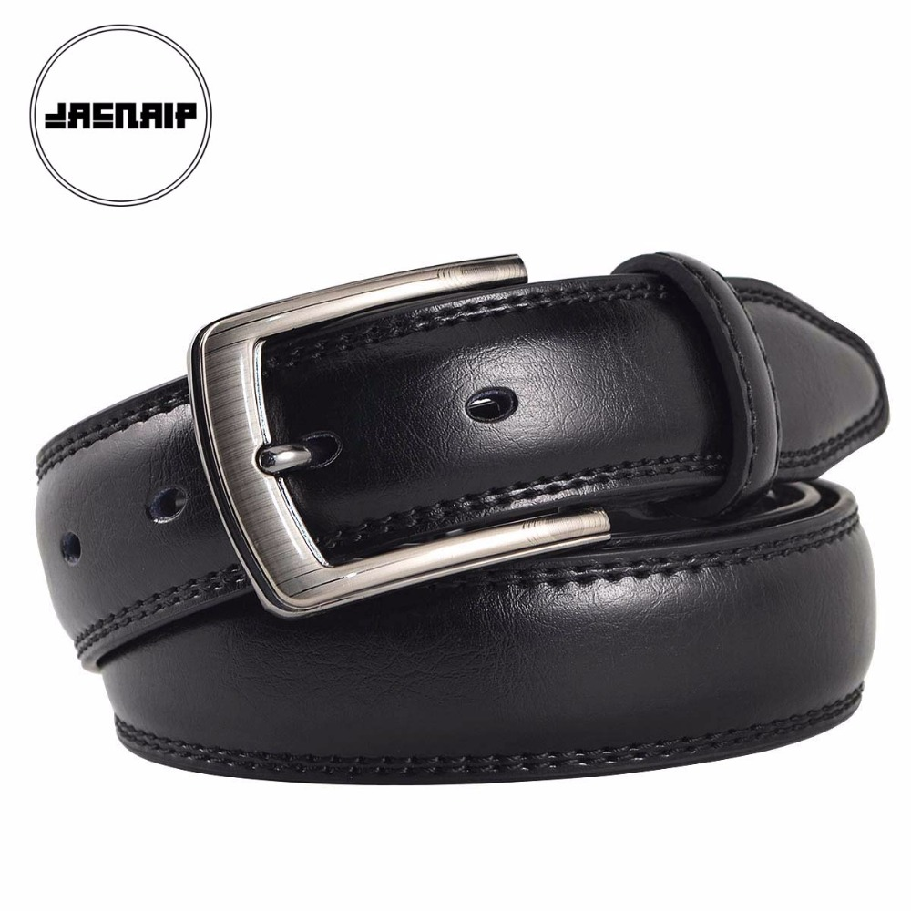 859b1ad7eb44 cowhide genuine leather belts for men brand Strap male pin buckle fancy  vintage jeans cintos