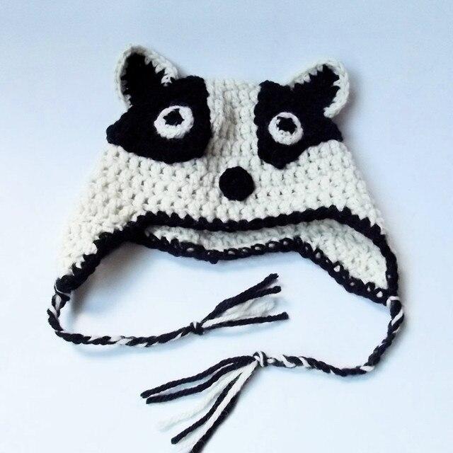 0814ba8f60f Novelty Badger Earflap Hat