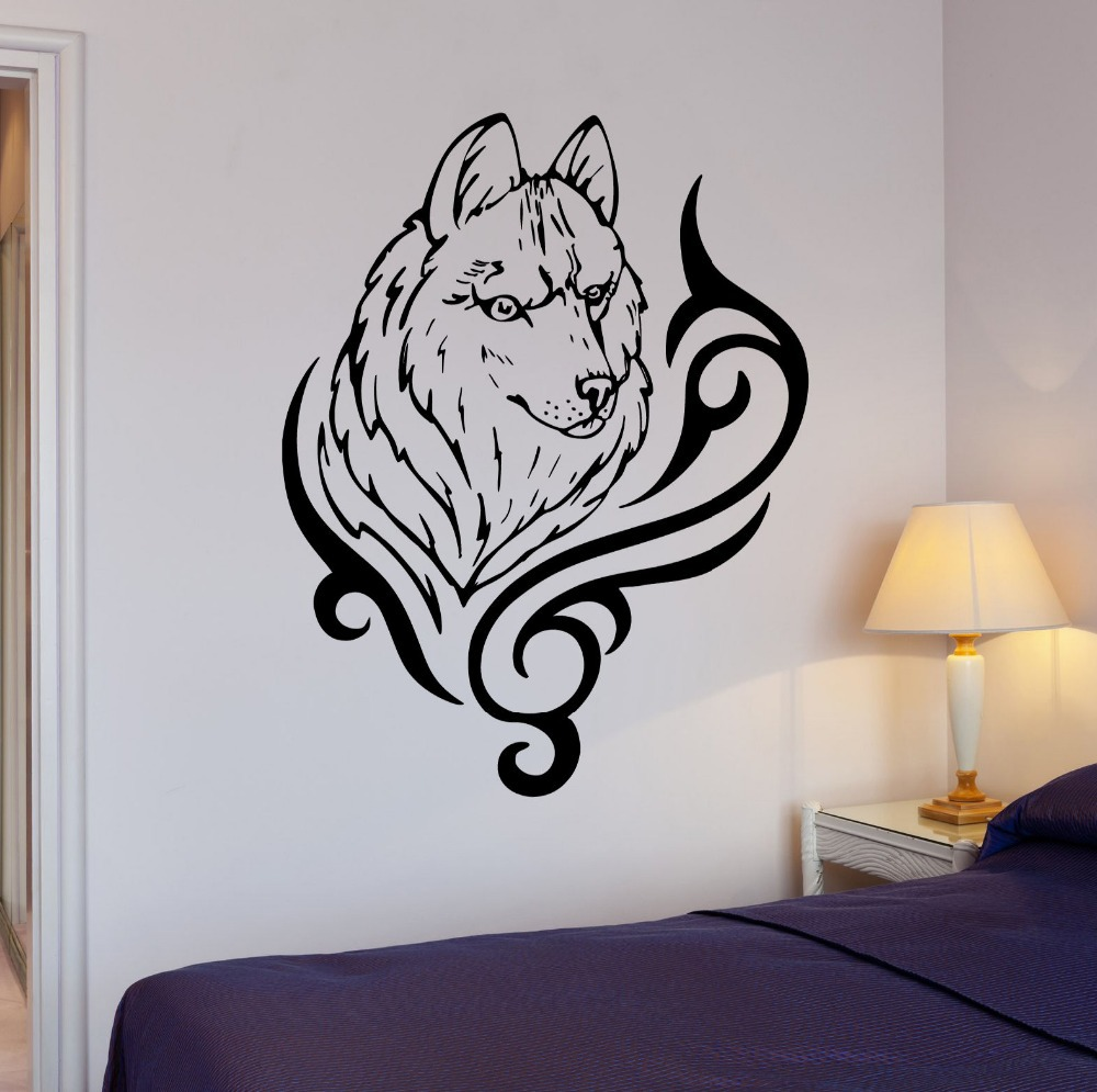 Wolf Wall Art online get cheap vinyl wolf -aliexpress | alibaba group