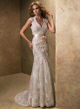 2013 new arrival MAGGIE mermaid wedding dress