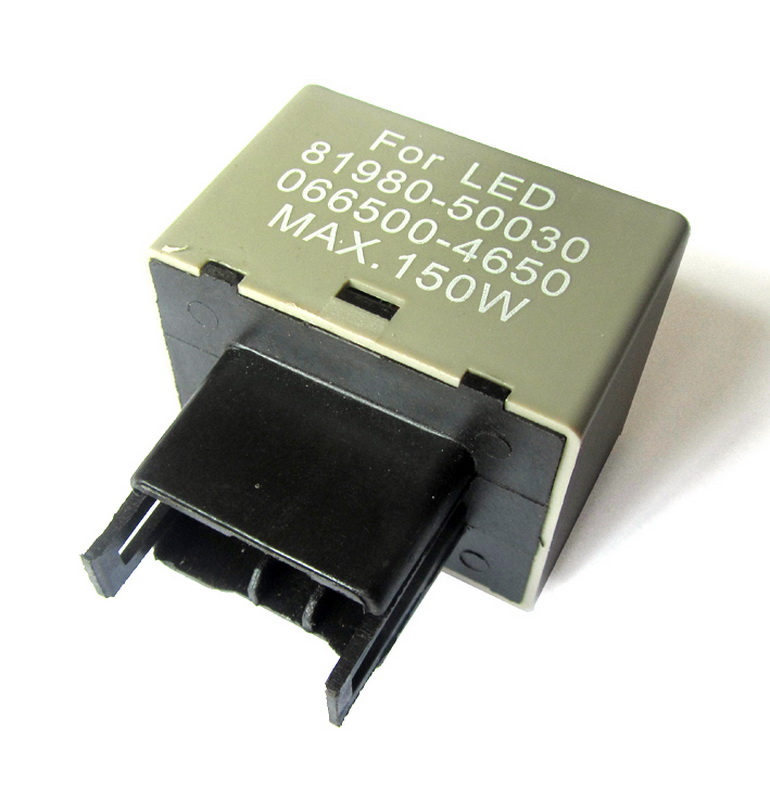New LED Flasher Relay Fix The Signal Lights Resistor 8-Pin For Toyota and Lexus P16