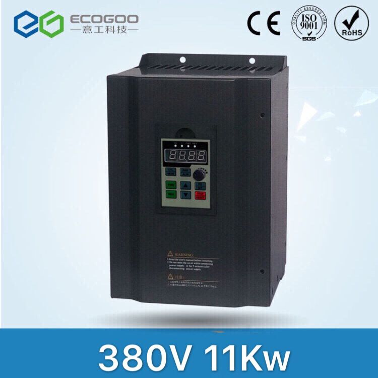 11kw 380V MPPT Multi-Functional Frequency Solar Inverter, DC-AC Drive three phase 380v 11kw multi functional ac drive for air compressor