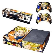 Super Goku Super Vegeta Decal Skin Sticker for Xbox one