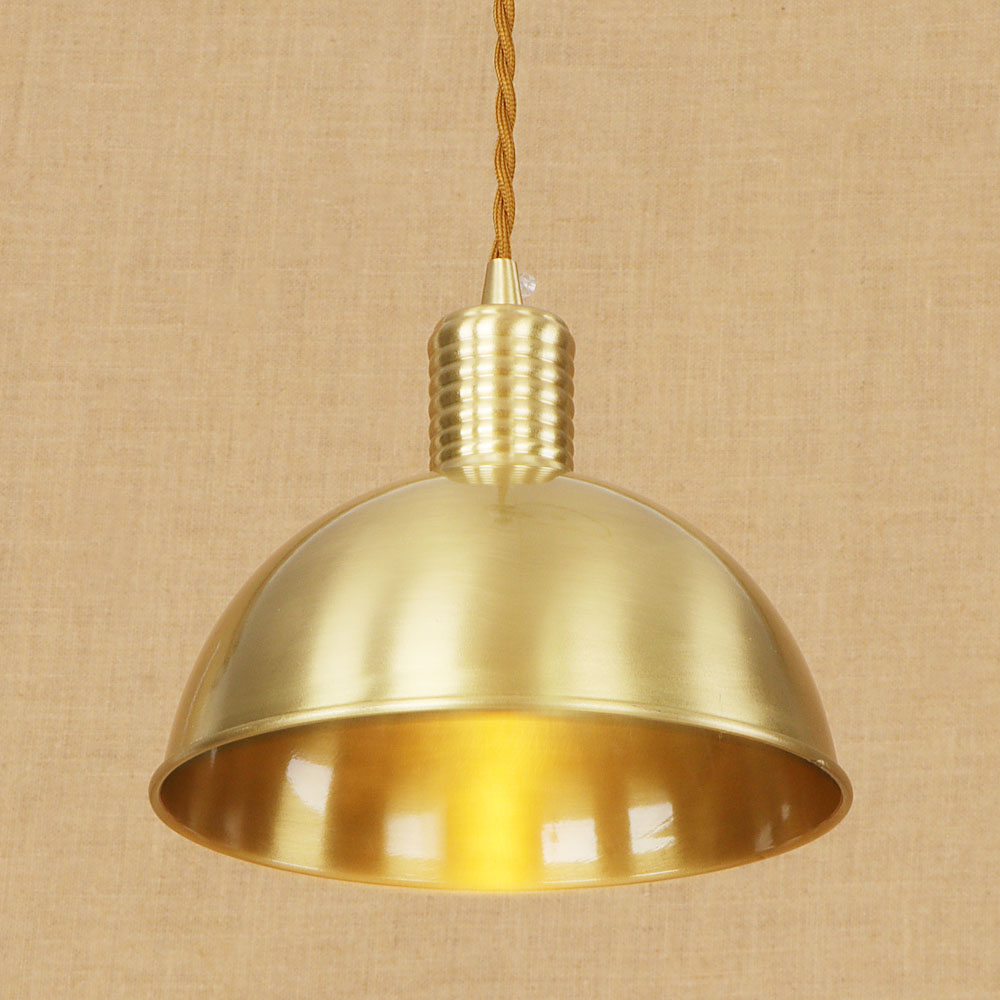Loft industrial copper Vintage pendant lamp adjust cord E27 LED hang pendant lights modern for kitchen living room bedroom e27 retro vintage industrial loft copper