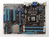 Used ASUS motherboard P8Z77 V LX LGA 1155 DDR3 i3 i5 22/32nm CPU USB3.0 32GB SATA3 VGA HDMI Z77 Desktop Motherboard|Motherboards| |  -