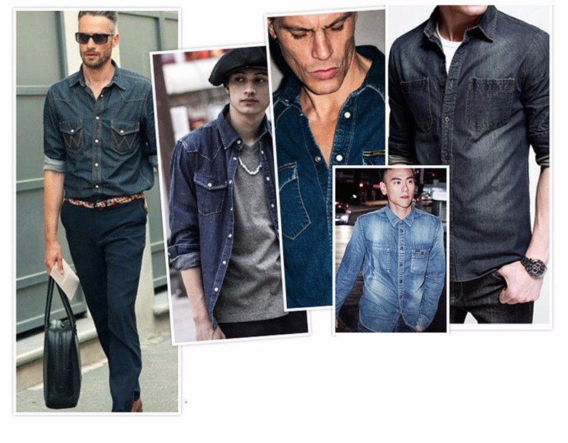 MEN DENIM SHIRTS (9)