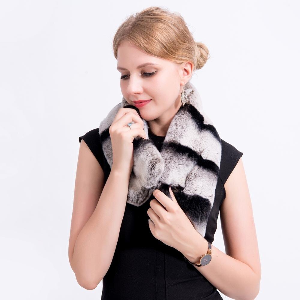 chinchilla fur scarf 2