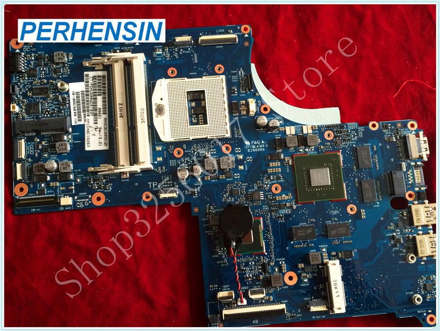 For HP For ENVY 17 M7-J laptop MOTHERBOARD 720266-501 720266-601 DDR3 740M 2G s947 6050A2549801 NON-Integrated 100% tested good free shipping 720266 001 motherboard for hp pavilion 17 j notebook pc 740m 2g