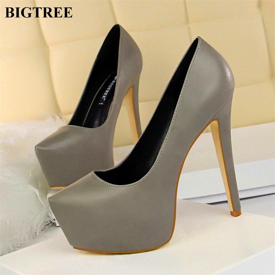d58dd653d77 Mujer Altos Moda vino Bombas Black Las Concise gris blanco Súper Cuero  apricot Tacones Flock Zapatos ...