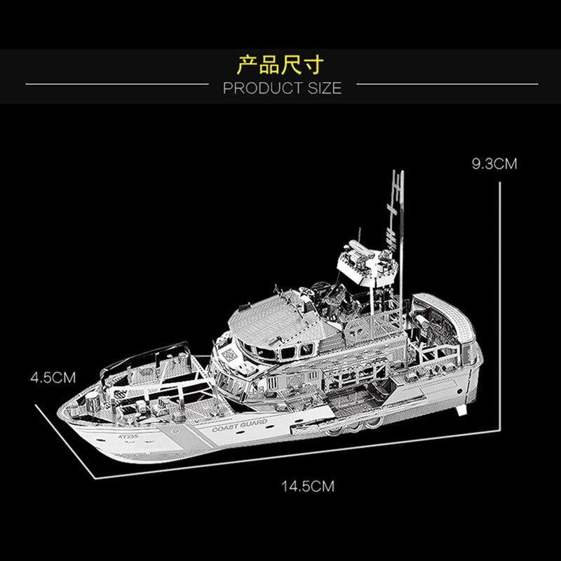 Nan yuan rompecabezas de metal 3D bote salvavidas DIY rompecabezas de - Juegos y rompecabezas - foto 3