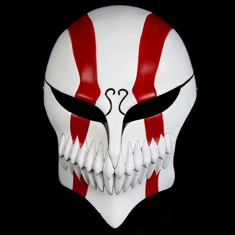 New arrival hot high quality resin kurosaki ichigo bankai full hollow mask red black 18 26cm - Ichigo vizard mask ...