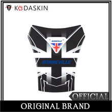 KODASKIN Motorcycle 3D Tank Pad TankPad Protector Decal Sticker Emblem for Triumph Bonneville T100 Bnneville SE