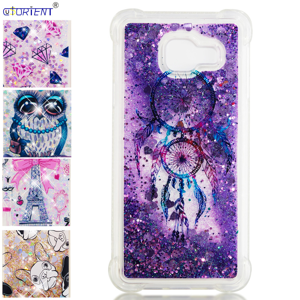 Bling Case For Samsung Galaxy A3 2016 Glitter Stars Dynamic Liquid Quicksand Fitted Cover Sm-a310f/ds A310f Sm-a310x Phone Funda Bright In Colour Cellphones & Telecommunications