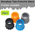 20 pcs / lote Wireless Microphone Protection tube sleeves microphone accessories