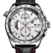 Reloj hombre esporte relógios dos homens relógio de quartzo de aço inoxidável completa relógios relogio masculino2016 pagani design da marca de luxo