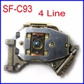 Free Shipping SF-C93 4 Lines Laser Lens SFC93 10 Pin Optical Pickup For VDO Becker Traffic Pro APS 30 Optical Pick-up