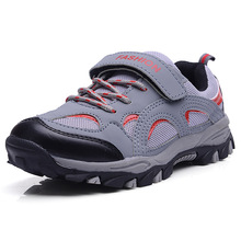 Kids Hiking Shoes Mesh Breathable Nonslip Boys Climbing Shoes Girls Outdoor Sport Kids Sneakers Walking Shoes