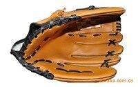 Fashion Portable Baseball Gloves Dark Brown Durable Men 1 1 5 Inch Softball Baseball Glove Wholesale