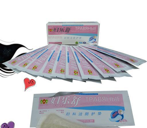Female jie Yin pads Anti-inflammatory and relieving itching Privates care Maintenance of cotton disinfection products