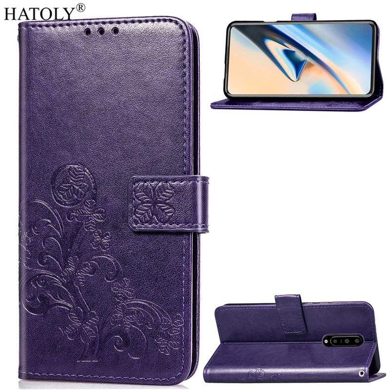 For OnePlus 7 Pro Case Flip Leather Case for OnePlus 7 Pro Wallet Case Bag Shell Soft Back Cover For OnePlus 7 Pro Phone Case