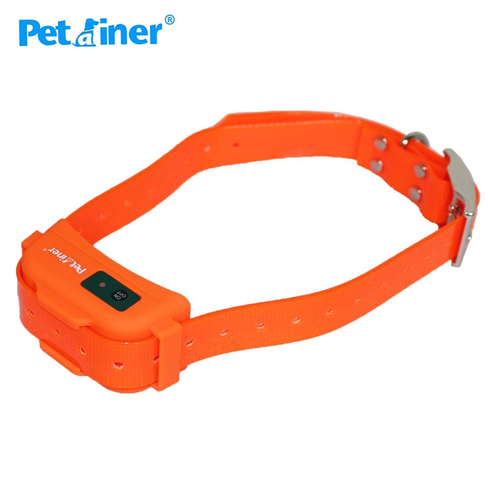 Petrainer 910 Trainer Pet Shock Collar Waterproof Rechargeable Hunter Collar with Electric Shock