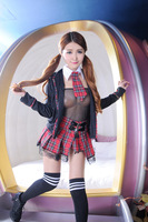 sexy hot erotic pajamas set student lenceria sexy baby doll lingerie interior mujer sexy school girl cosplay role play women