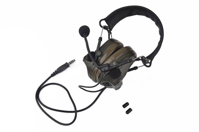 softair ativo fone de ouvido para tiro e caça z051