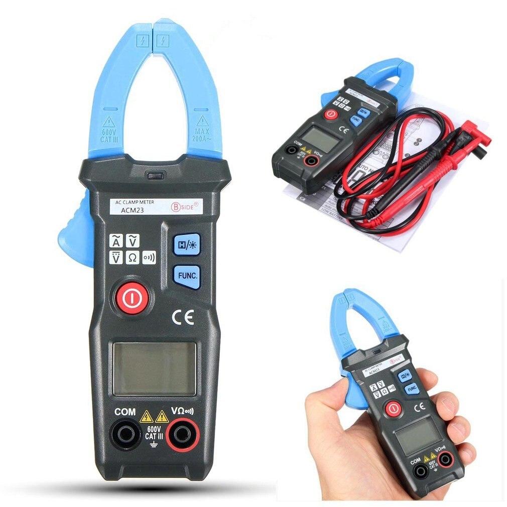 Pocket Clamp Meter : Pc bside v digital auto range lcd display pocket clamp
