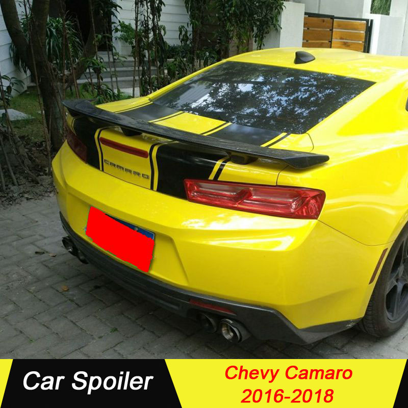 For Chevy Camaro 2016 2017 2018 spoiler high quality abs plastic rear wing rear trunk spoiler