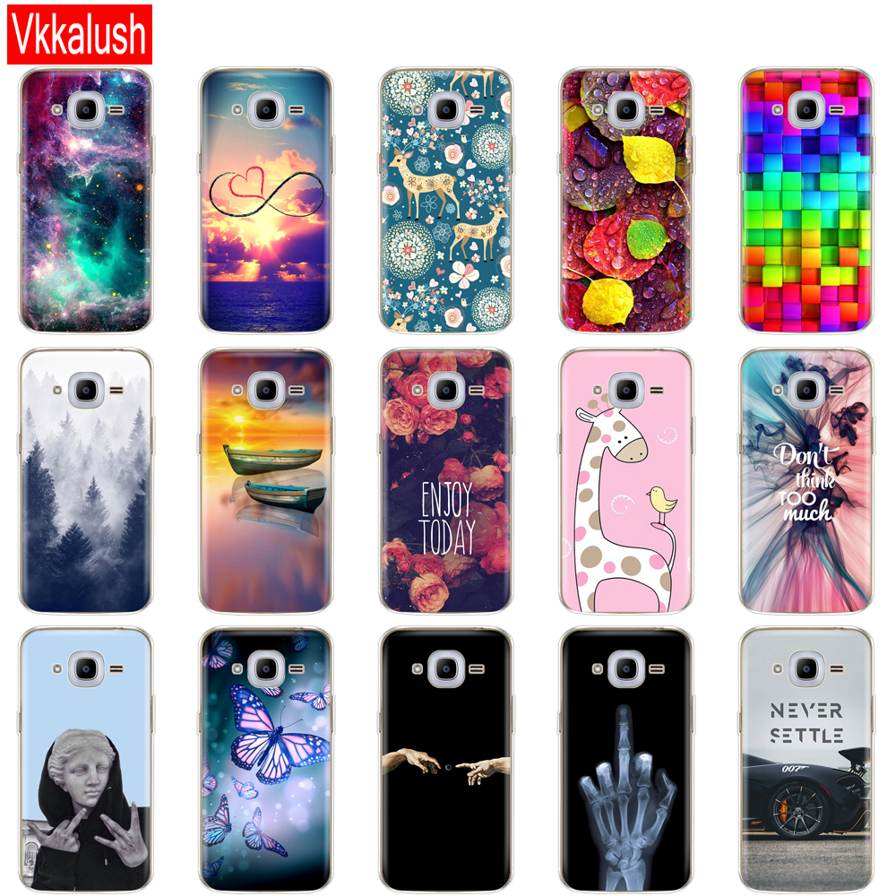 Image 3 - Soft TPU Case For Samsung J2 2016 For Galaxy J2 2016 SM  J210 back cover 360 full protective printing transparent case coque-in Fitted Cases from Cellphones & Telecommunications