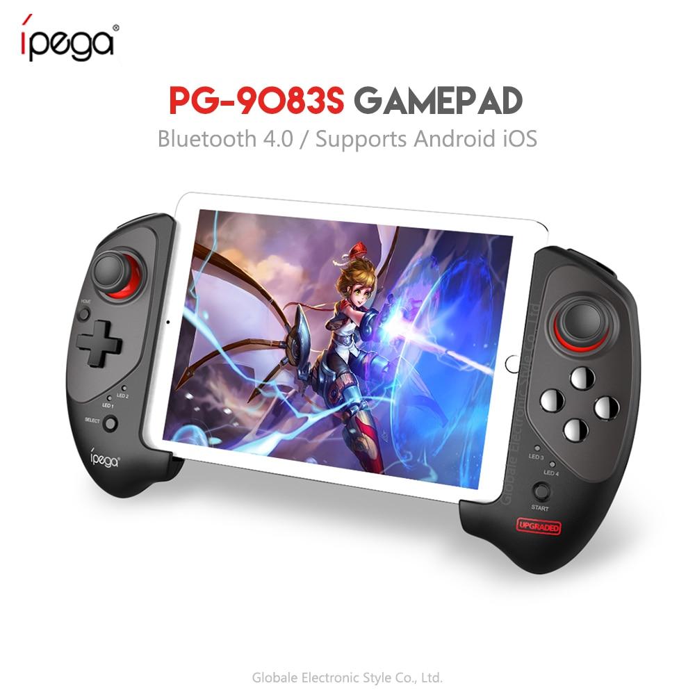 IPEGA PG-9083s PG 9083 Bluetooth Gamepad contrôleur de jeu télescopique sans fil pratique Stretch manette Pad pour iOS/Android/WIN