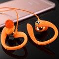 Gancho para la oreja auriculares de 3.5mm con cable de alta calidad correr deportes kulakl k auriculares de reducción de ruido auriculares con el mic para el iphone mp3/mp4