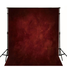 Thin Vinyl cloth photography Backdrop red Background For Studio Photo Pure Color photocall Newborn Child backdrop MH-052