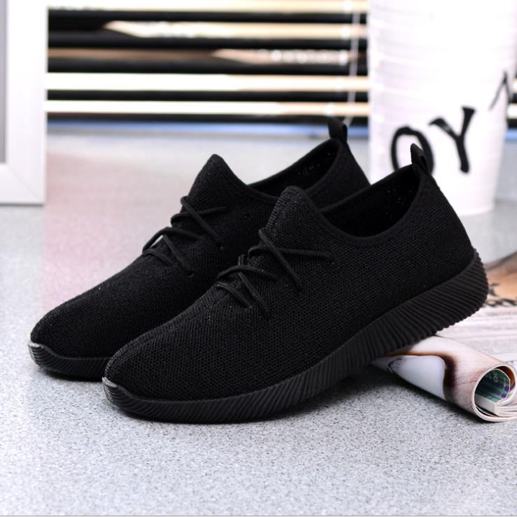 Noir Femelle Étudiant blanc Couleur Profonde Net Bouche Chaussures 2018 Respirant Peu Voler Grande Vraiment Tissé Sucrerie De rose Taille pourpre Oa6gcwAq