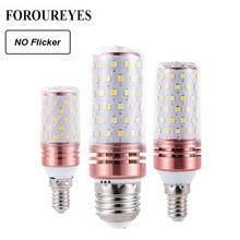 En düşük fiyat 4 adet LED mısır ampul E27 E14 SMD2835 titreşimsiz 8W 12W 16W 100V 240V avize mum LED ışık ev dekorasyon için