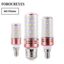 Lâmpada led milho menor 4 peças, e27 e14 smd2835, 8w, 12w, 16w, 100v candelabro 240v luz led para decoração de casa