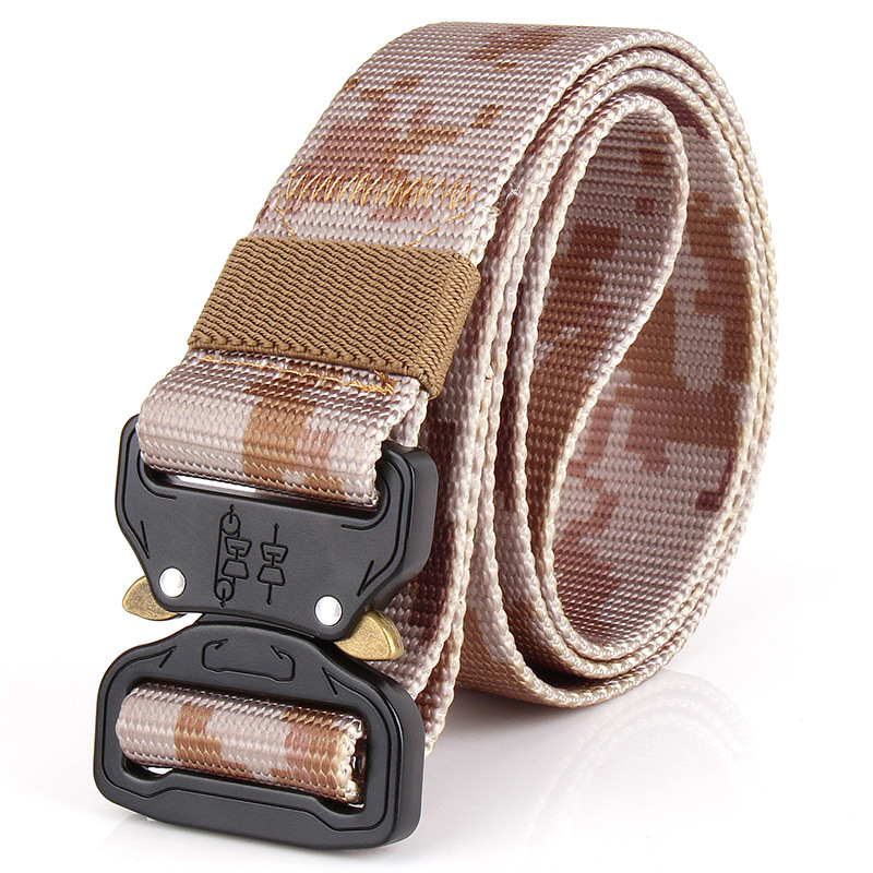 Special forces canvas men's military belt, tactical belt Russian military nylon pants belt henry brook special forces